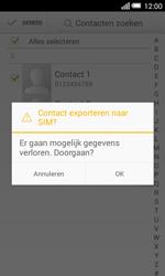 Alcatel One Touch POP S3 4G (OT-5050X) - Contacten en data - Contacten kopiëren van toestel naar SIM - Stap 8