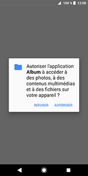 Sony Xperia XZ2 - Photos, vidéos, musique - Envoyer une photo via Bluetooth - Étape 4