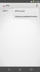 Sony Xperia Z1 - Internet - Configurar Internet - Paso 10