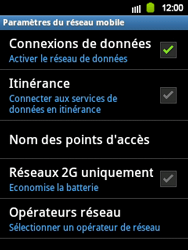 Samsung S5360 Galaxy Y - Internet - configuration manuelle - Étape 7