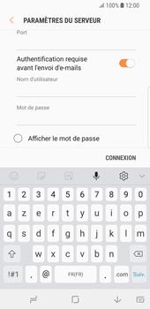 Samsung Galaxy S9 - E-mail - Configurer l