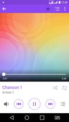 LG LG K8 - Photos, vidéos, musique - Ecouter de la musique - Étape 7