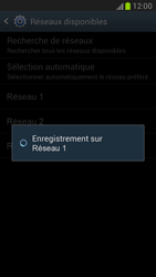 Samsung N7100 Galaxy Note II - Réseau - Utilisation à l