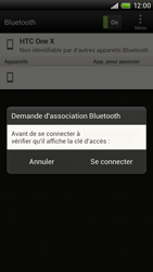 HTC S720e One X - Bluetooth - connexion Bluetooth - Étape 10