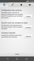 Sony Xperia Z3 Compact - Contact, Appels, SMS/MMS - Ajouter un contact - Étape 4
