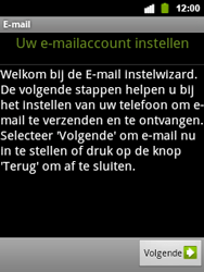 Alcatel OT-903 - E-mail - Handmatig instellen - Stap 5