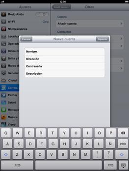 Apple iPad 2 - E-mail - Configurar correo electrónico - Paso 9