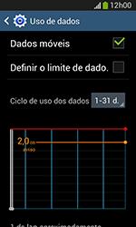 Samsung Galaxy Grand Neo - Rede móvel - Como ativar e desativar uma rede de dados - Etapa 5