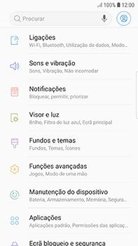 Samsung Galaxy S7 Edge - Android Oreo - Internet no telemóvel - Como ativar os dados móveis -  4