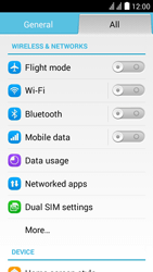 Huawei Ascend Y625 - Internet - Disable data usage - Step 4
