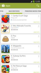 Samsung I9500 Galaxy S IV - Aplicativos - Como baixar aplicativos - Etapa 8