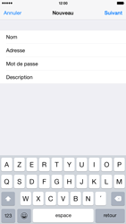 Apple iPhone 6 Plus - E-mail - Configuration manuelle - Étape 10