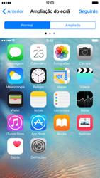 Apple iPhone 6 iOS 9 - Primeiros passos - Como ligar o telemóvel pela primeira vez -  26