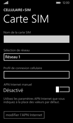 Microsoft Lumia 532 - Réseau - Utilisation à l