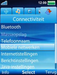 Sony Ericsson W100i Spiro - Buitenland - Bellen, sms en internet - Stap 4