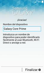 Samsung Galaxy Core Prime - Primeros pasos - Activar el equipo - Paso 16