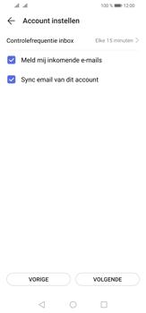 Huawei P30 Lite - E-mail - e-mail instellen: POP3 - Stap 17