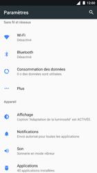 Nokia 8 - Réseau - Utilisation à l