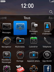 BlackBerry 9800 Torch - E-mail - Envoi d