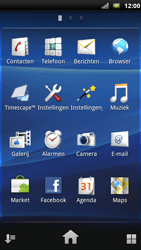 Sony Ericsson Xperia Neo - Voicemail - handmatig instellen - Stap 4