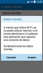 Samsung Galaxy Core Prime - Internet - Activar o desactivar la conexión de datos - Paso 7