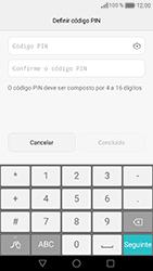 Huawei Honor 8 - Segurança - Como ativar o código de bloqueio do ecrã -  7