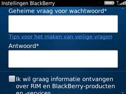 BlackBerry 9720 Bold - BlackBerry activeren - BlackBerry ID activeren - Stap 11