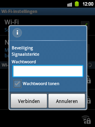 Samsung S5360 Galaxy Y - Wifi - handmatig instellen - Stap 8