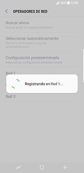 Samsung Galaxy S8 - Red - Seleccionar una red - Paso 10