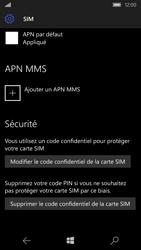 Microsoft Lumia 550 - Sécuriser votre mobile - Personnaliser le code PIN de votre carte SIM - Étape 11