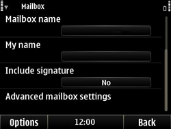Nokia E6-00 - E-mail - Manual configuration - Step 15