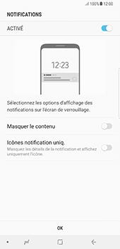 Samsung Galaxy Note 8 - Sécuriser votre mobile - Activer le code de verrouillage - Étape 11