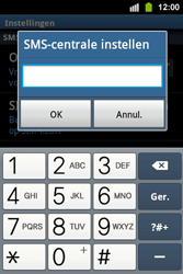 Samsung S5830i Galaxy Ace i - SMS - handmatig instellen - Stap 5