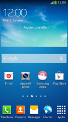 Samsung G386F Galaxy Core LTE - Internet - configuration automatique - Étape 1