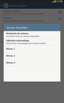 Samsung T315 Galaxy Tab 3 8-0 LTE - Réseau - utilisation à l'étranger - Étape 11