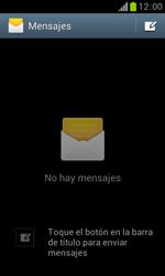 Samsung S7560 Galaxy Trend - Mensajería - Configurar el equipo para mensajes de texto - Paso 4