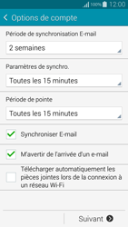Samsung G850F Galaxy Alpha - E-mail - Configuration manuelle - Étape 17