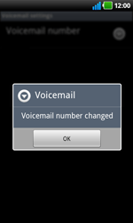 LG P920 Optimus 3D Speed - Voicemail - Manual configuration - Step 8