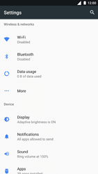 Nokia 8 - Internet - Enable or disable - Step 4