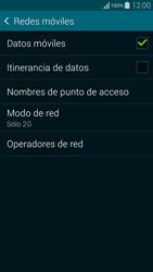 Samsung G850F Galaxy Alpha - Red - Seleccionar el tipo de red - Paso 8