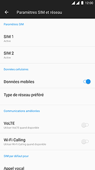 OnePlus 3 - Android Oreo - Internet - Configuration manuelle - Étape 5