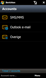 Samsung I8000 Omnia II - E-mail - Handmatig instellen - Stap 6