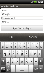 HTC S510b Rhyme - Internet - Navigation sur Internet - Étape 6