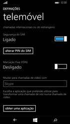 Microsoft Lumia 535 - Segurança - Como ativar o código PIN do cartão de telemóvel -  8