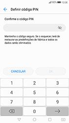Huawei P8 Lite (2017) - Segurança - Como ativar o código de bloqueio do ecrã -  8