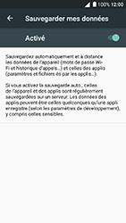 Alcatel Shine Lite - Device maintenance - Back up - Étape 9