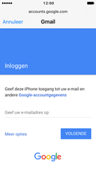 Apple iPhone 5 iOS 10 - E-mail - handmatig instellen (gmail) - Stap 6