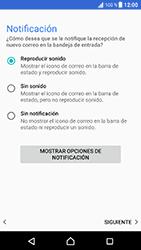 Sony Xperia XZ - Android Nougat - E-mail - Configurar Outlook.com - Paso 14