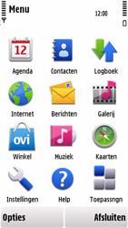 Nokia 5230 - MMS - handmatig instellen - Stap 19