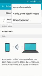 Samsung Galaxy J3 (2016) - Internet et connexion - Partager votre connexion en Wi-Fi - Étape 7